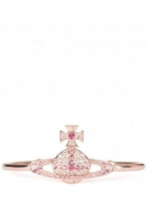 Vivienne Westwood Kika Open Bangle Rose Gold