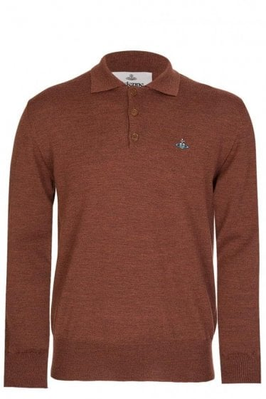 Vivienne Westwood Knitted Polo Brown