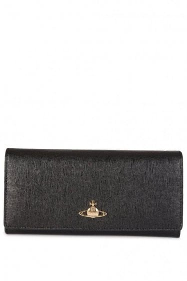 Vivienne Westwood Leather Purse Black