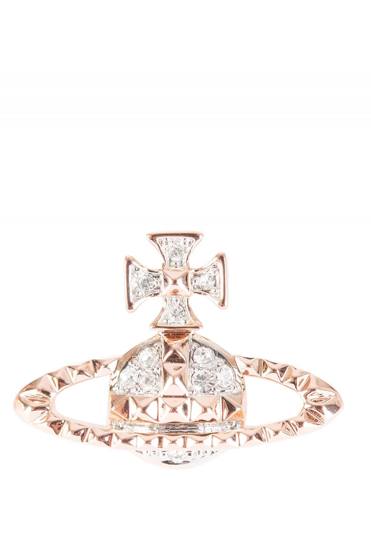 Vivienne Westwood Mayfair Bas Relief Earrings Rose Gold Uncategorised From Circle Fashion Uk