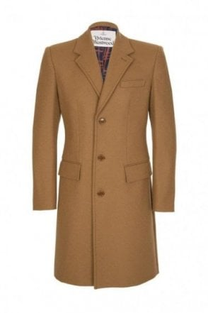 Vivienne Westwood Melton City Coat Camel