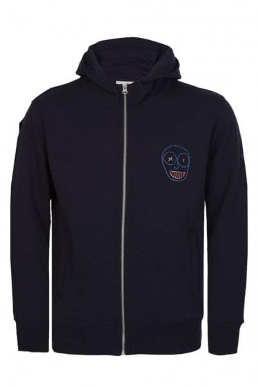 Vivienne Westwood Mens Turtle Navy Hooded Sweat
