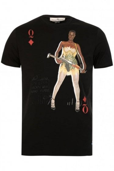 Vivienne Westwood Message Tshirt Black