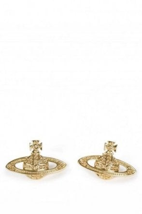 Vivienne Westwood Minnie Bass Relief Earnings Gold