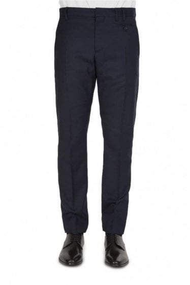 Vivienne Westwood Navy Tapered Trousers