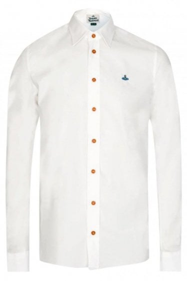 Vivienne Westwood One Button Poplin Shirt