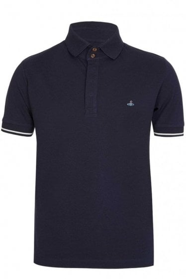 Vivienne Westwood Orb Polo Navy
