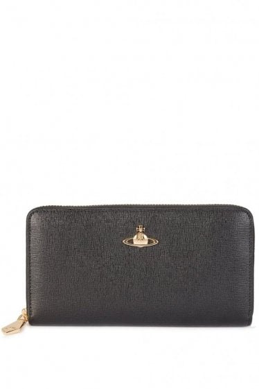 Vivienne Westwood Saffiano Leather Purse