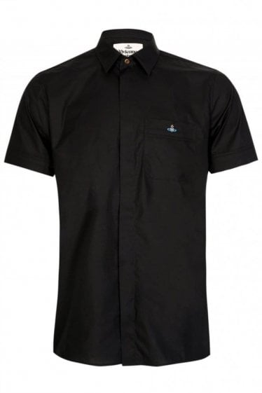 Vivienne Westwood Short Sleeved Shirt Black
