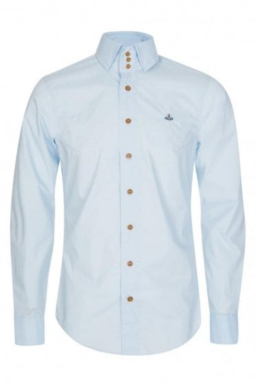 Vivienne Westwood Three Button Krall Poplin Stretch Shirt