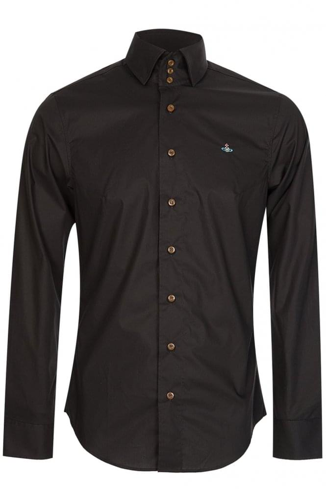 Vivienne Westwood Three Button Krall Shirt Black