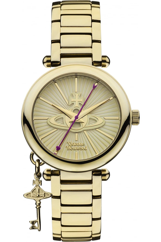 8c26eebbe1d VIVIENNE WESTWOOD Vivienne Westwood Womens Kensington II Watch Gold ...