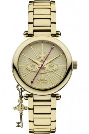 Vivienne Westwood Womens Kensington II Watch Gold