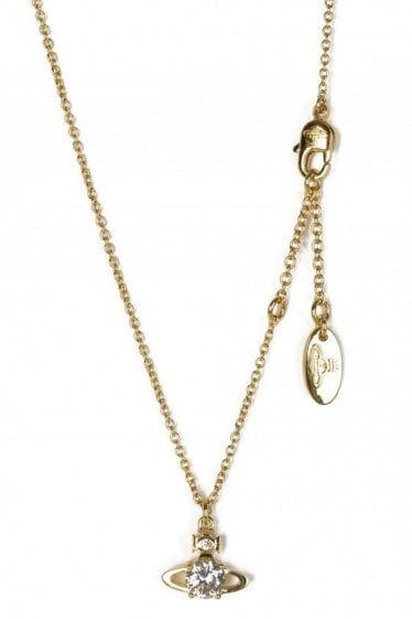 Vivienne Westwood Womens Reina Pendant Gold