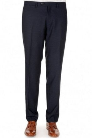 Hugo Boss Weeze Wool Mix Trousers Navy