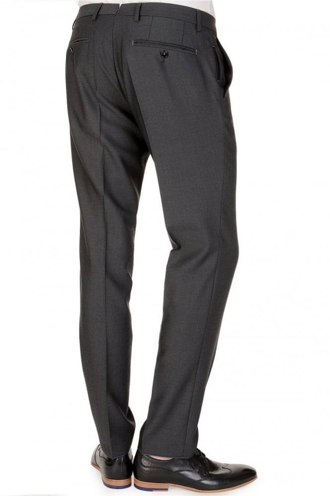 Hugo Boss Weeze Wool Mix Trousers Charcoal