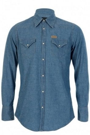 Dsquared Chambray Western Shirt