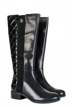 Womens Armani Jeans Knee Boots