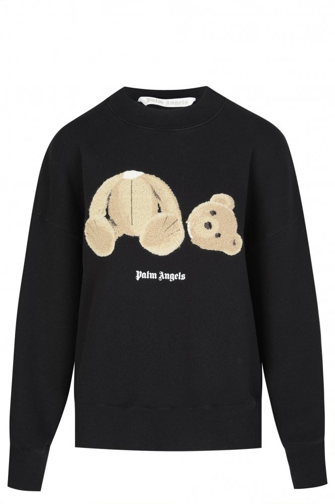 Womens Bear Fitted Sweater