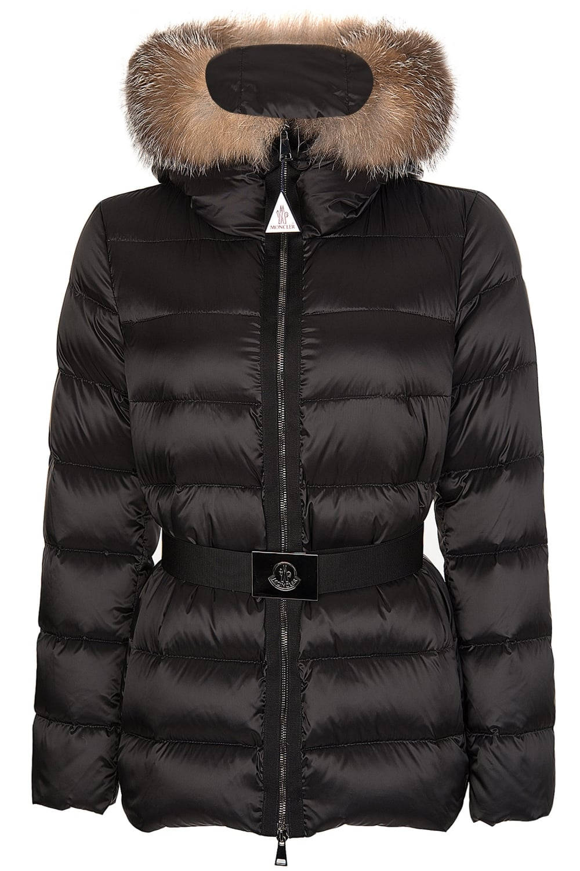 f92191344 Womens Tatie Fur Hooded Puffer Jacket