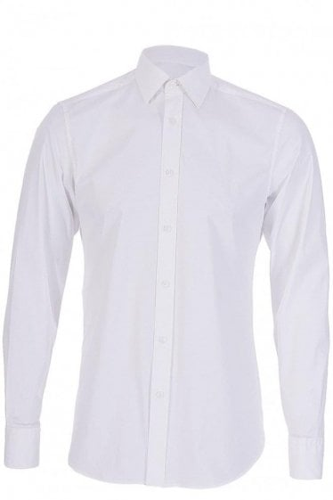 Z Zegna Drop 8 Fit White Shirt
