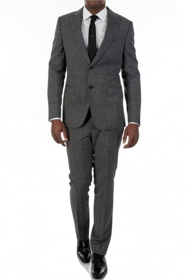 Z Zegna Drop 8 Grey Mohair Two Piece Suit